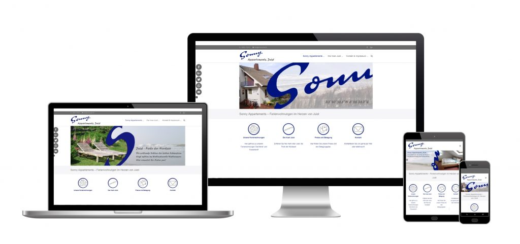 Webgestalltung, Website-Erstellung, responsive Website